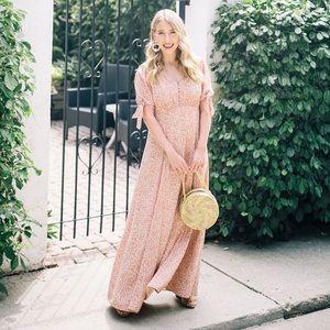Gal Meets Glam | Aurora Floral Print Maxi Dress